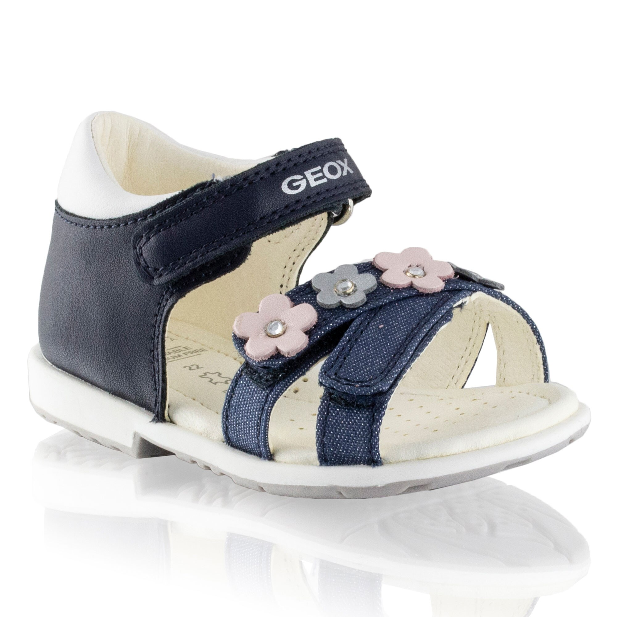Russell and Bromley B VERRED Velcro Strap Open Sandal