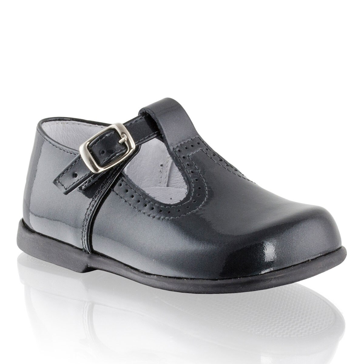 Russell and Bromley BUCKLE-T T-Bar Buckle Shoe