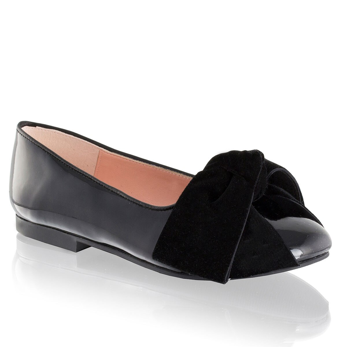 Russell and Bromley DIDDLEY Bow Trim Ballerina
