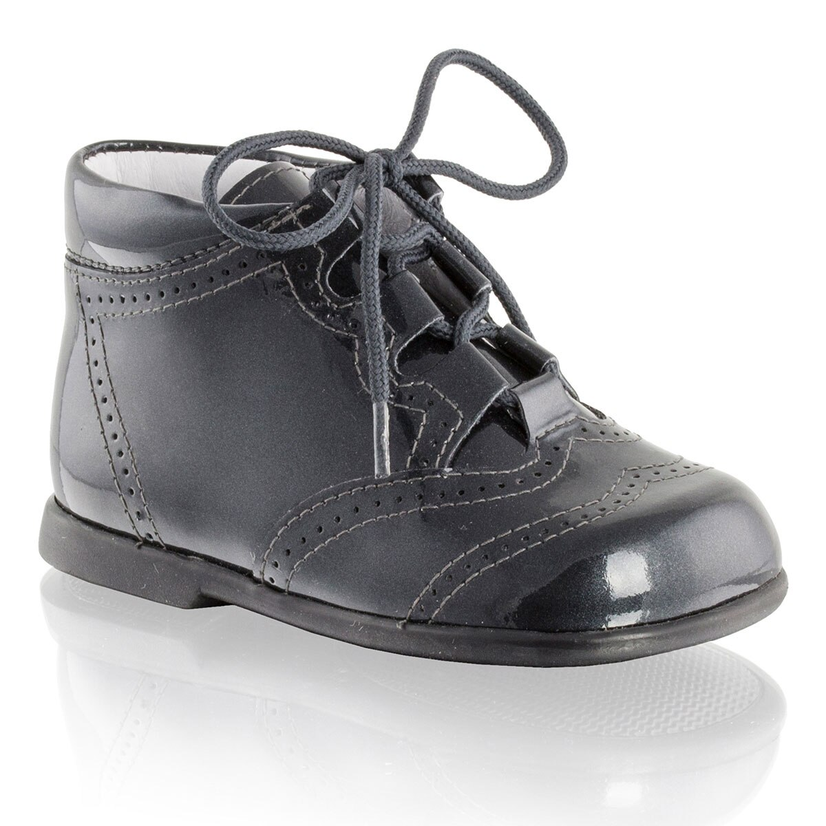 Russell and Bromley GILLY Brogued Lace-Up Boot