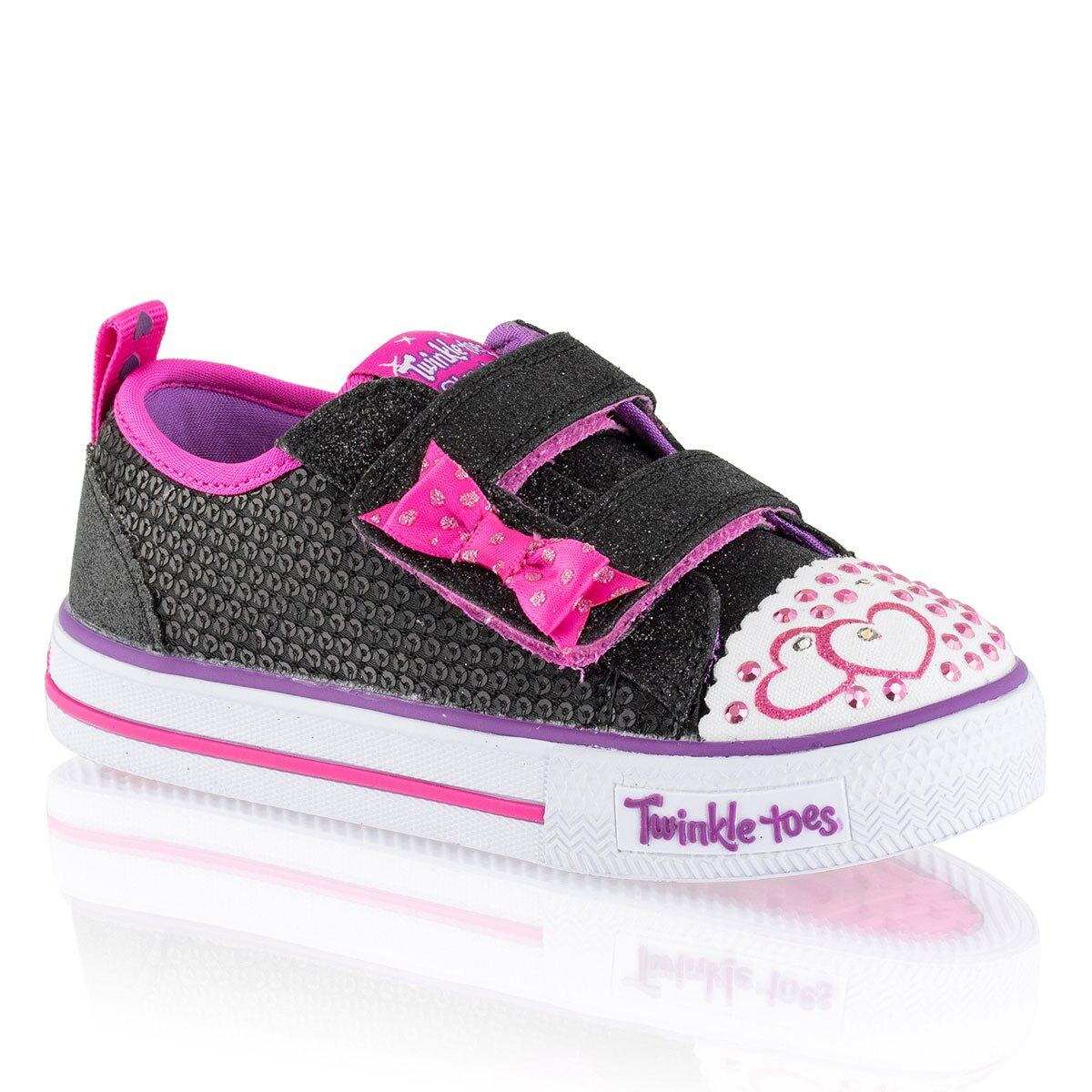 Russell and Bromley ITSY BITSY Double Velcro Trainer