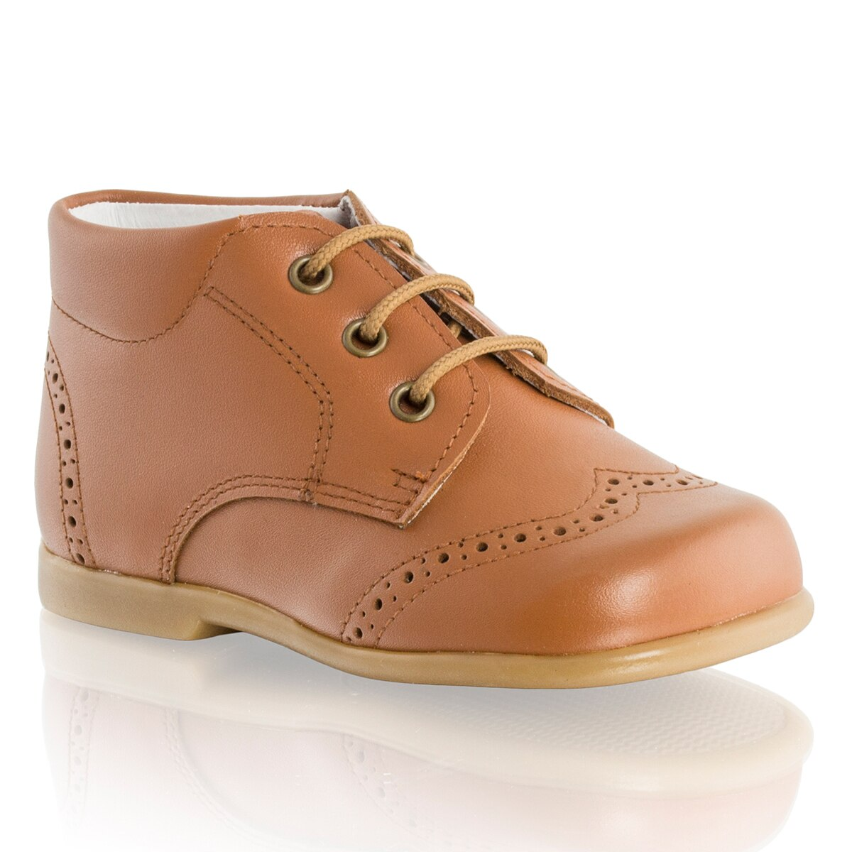 Russell and Bromley JAYDEN Lace-Up Brogued Boot