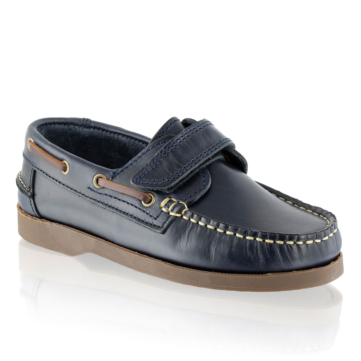 Russell and Bromley KEEL V Velcro Boat Shoe