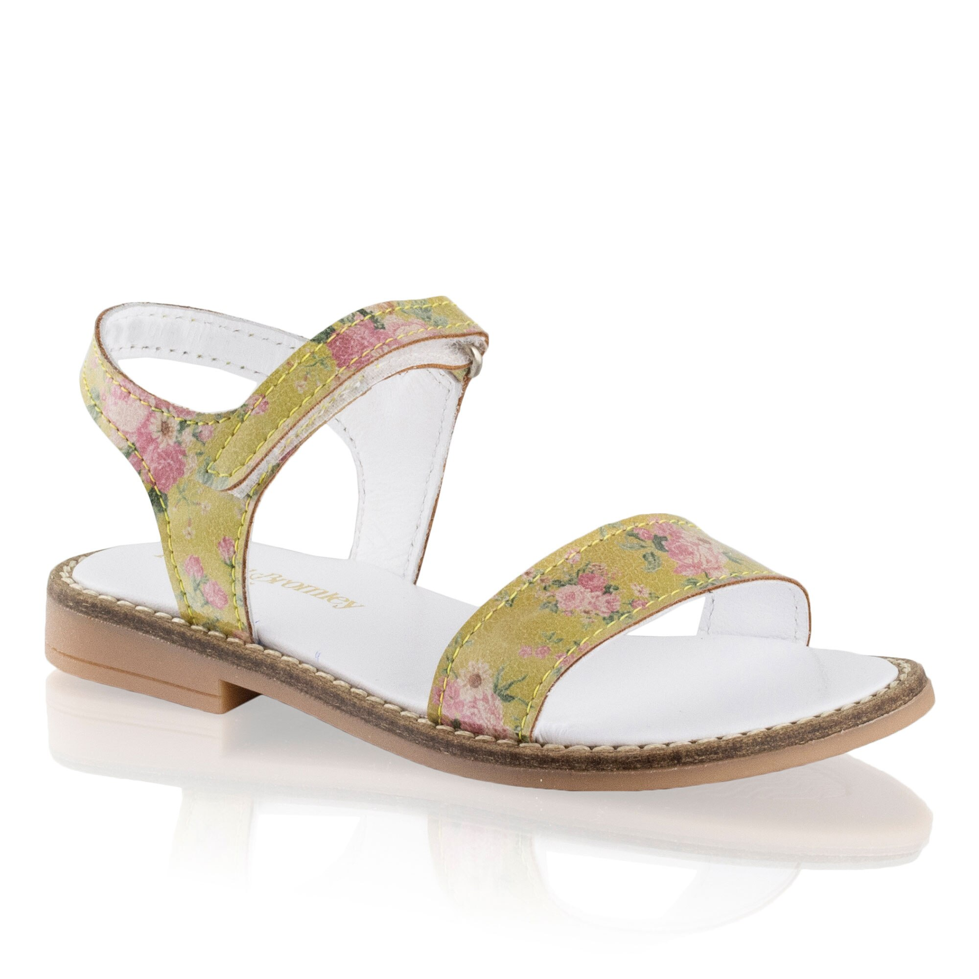 Russell and Bromley POSEY Flower Detail Open Sandal