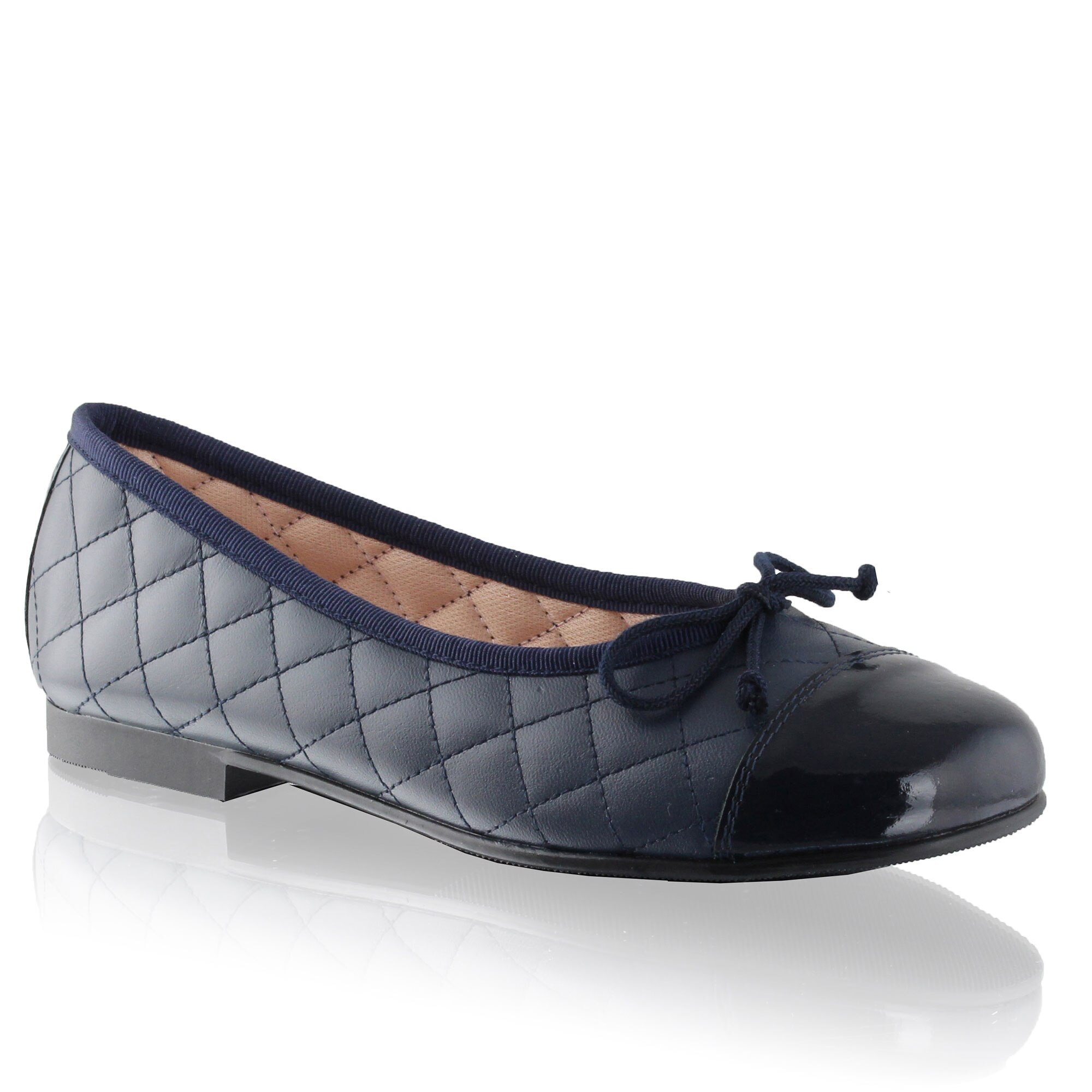 Russell and Bromley Q BALLET Quilted Ballerina