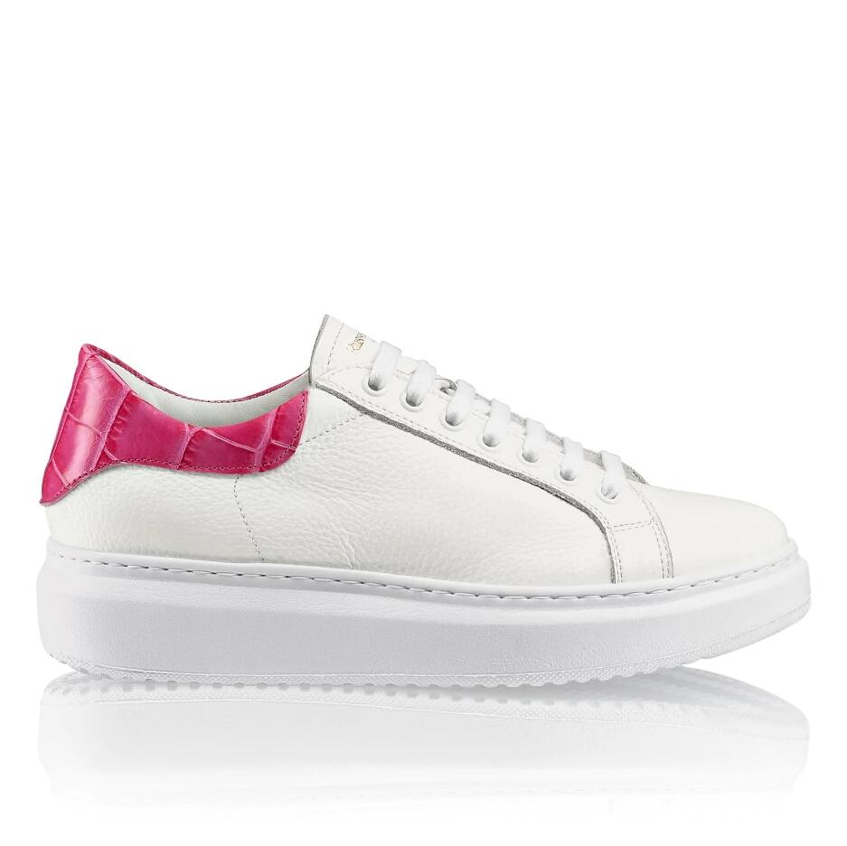 Russell and Bromley PRIZE Lace-Up Flatform Sneaker