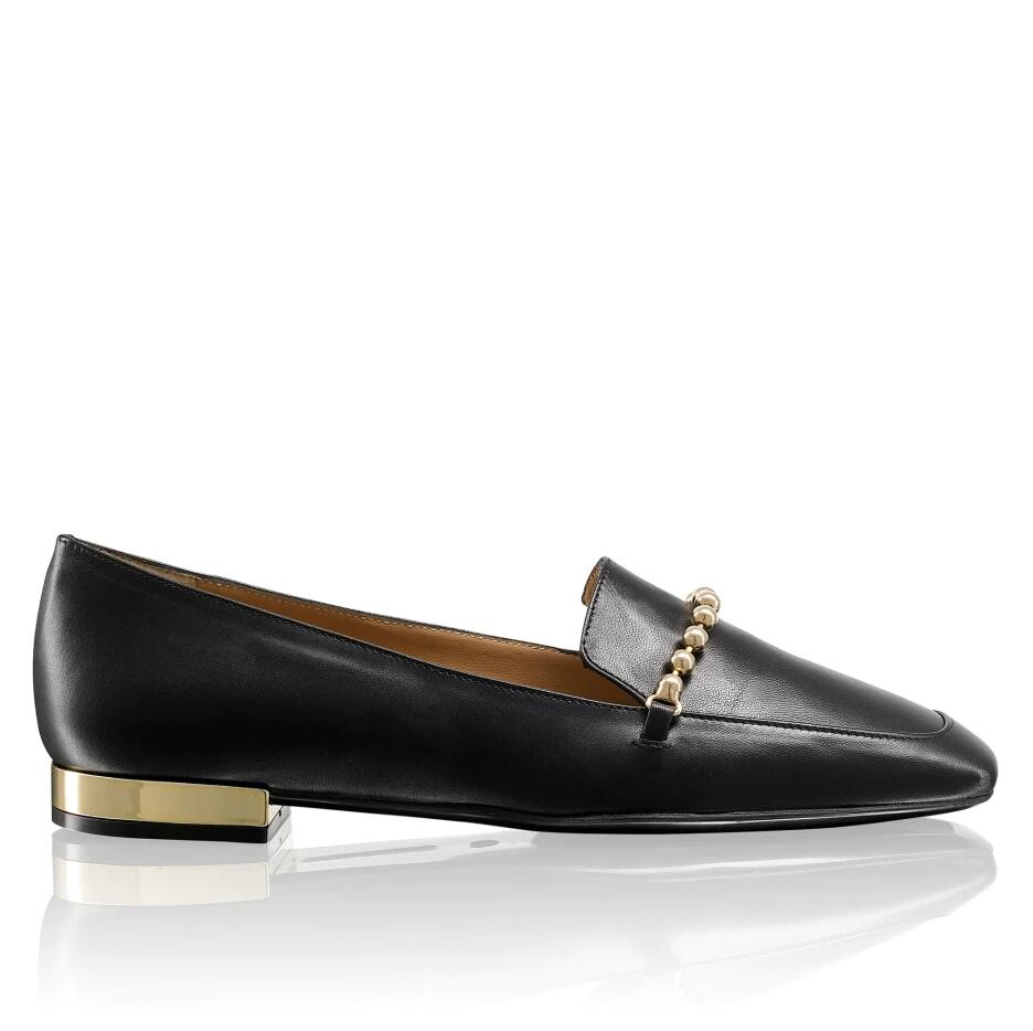 Russell and Bromley PIN BALL Chain Trim Loafer