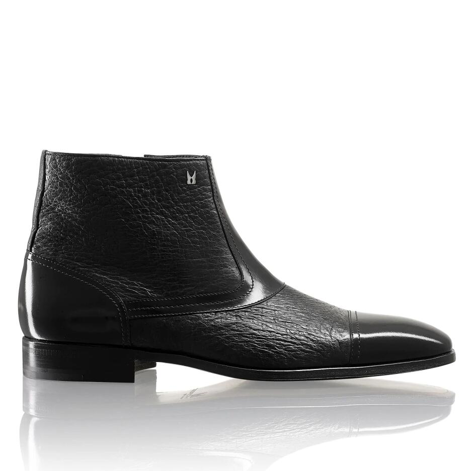 Russell and Bromley BERGAMO Zip Boot With Toe-Cap