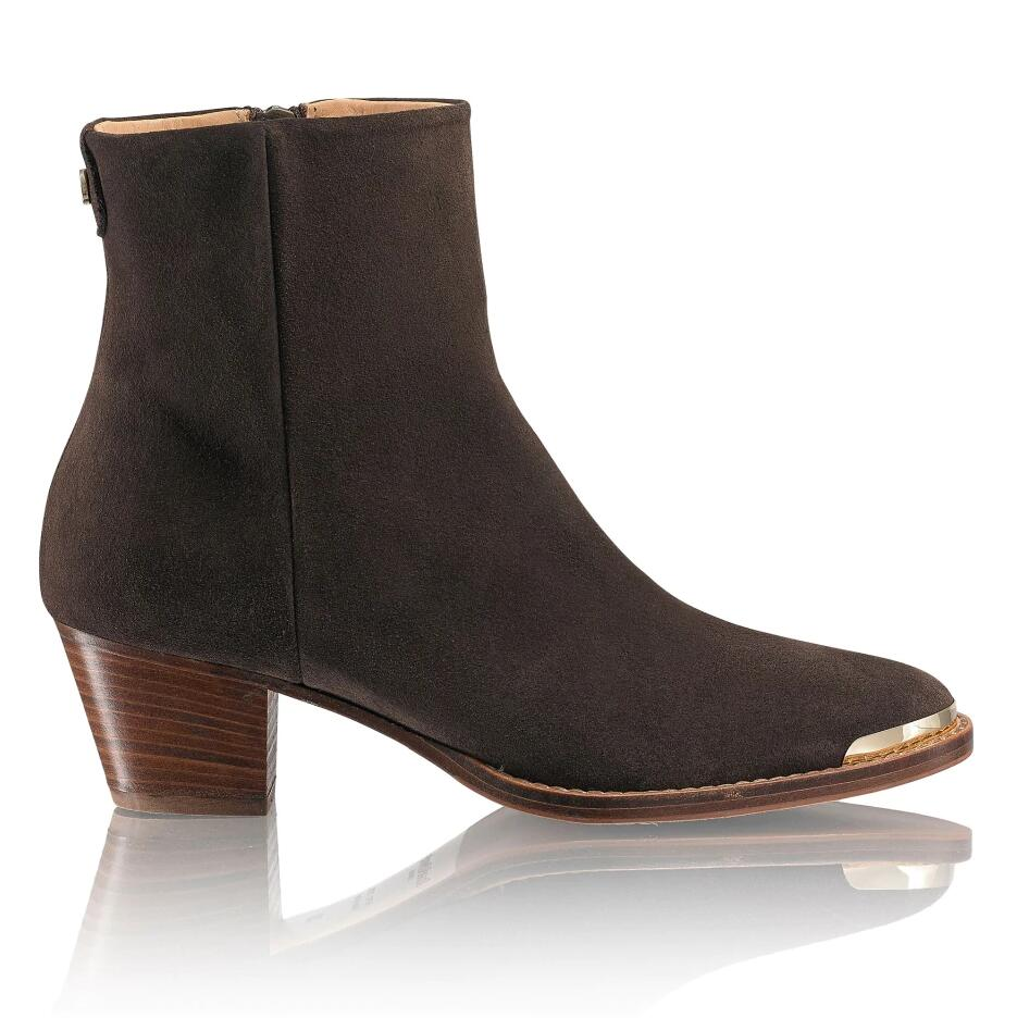 Russell and Bromley CACTUS Gaucho Heel Ankle Boot