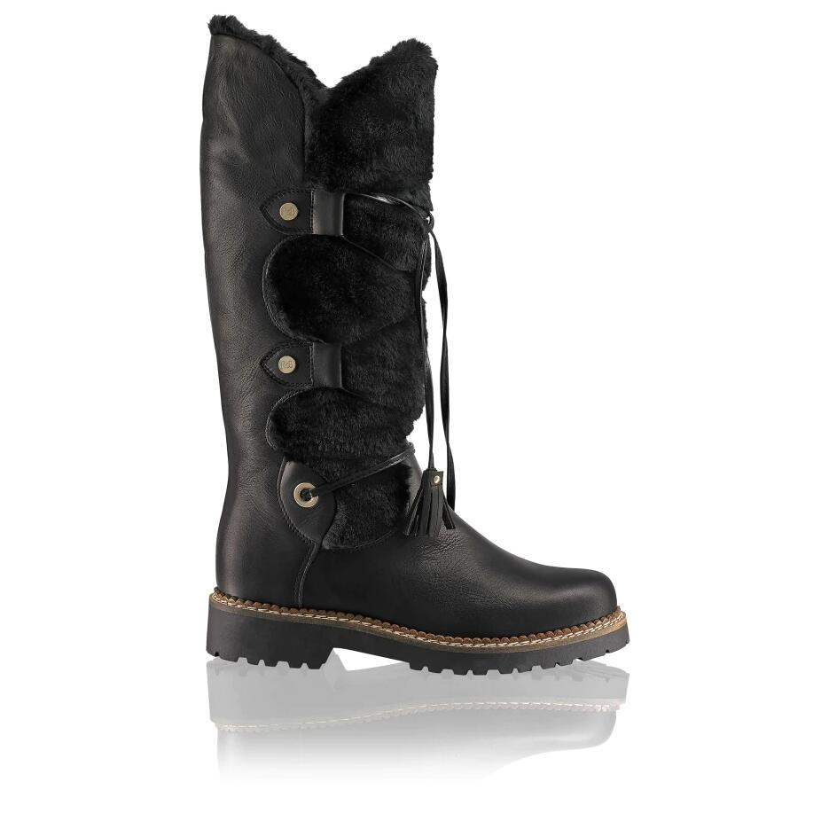 Russell and Bromley HIGHLANDER Faux-Fur Long Boot