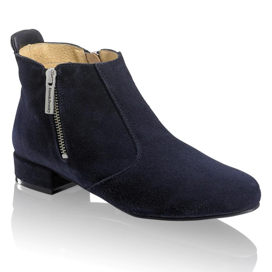Russell and Bromley ZIP-CODE Zip Ankle Boot