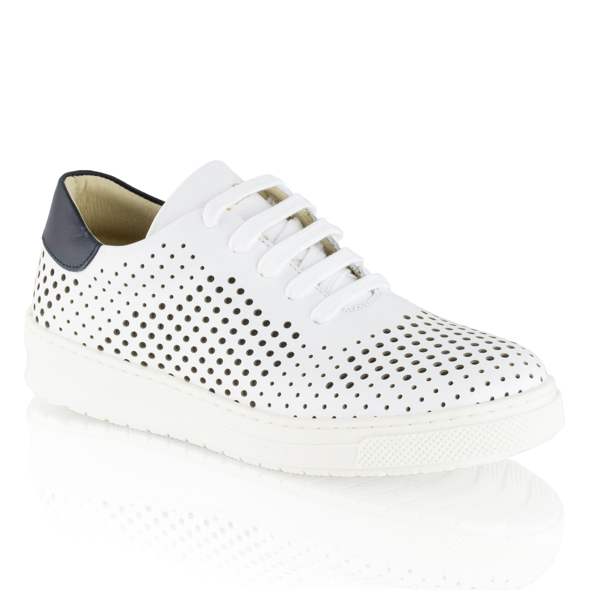 Russell and Bromley WHOLEPUNCH Lace-Up Sneaker