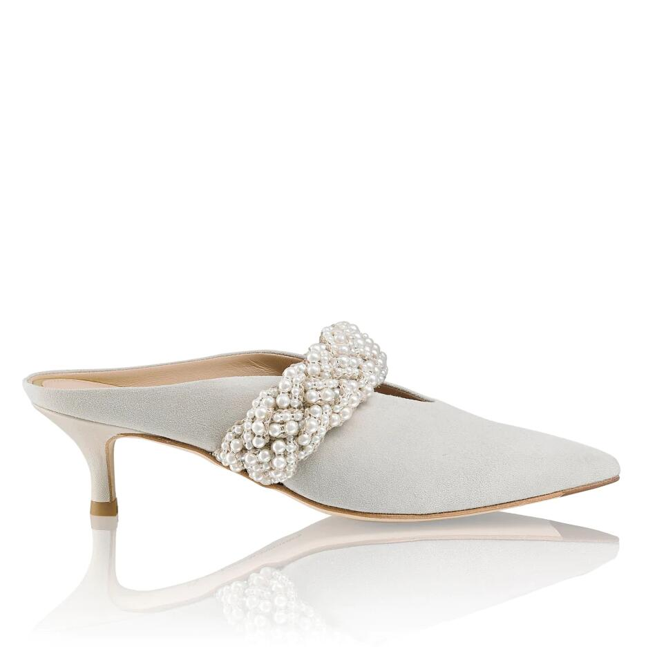 Russell and Bromley PEARLMULE Pearl Band Mule