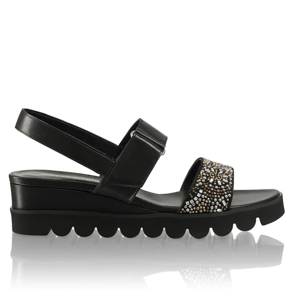 Russell and Bromley BEADYWEDGE Beaded Luxury Flatform