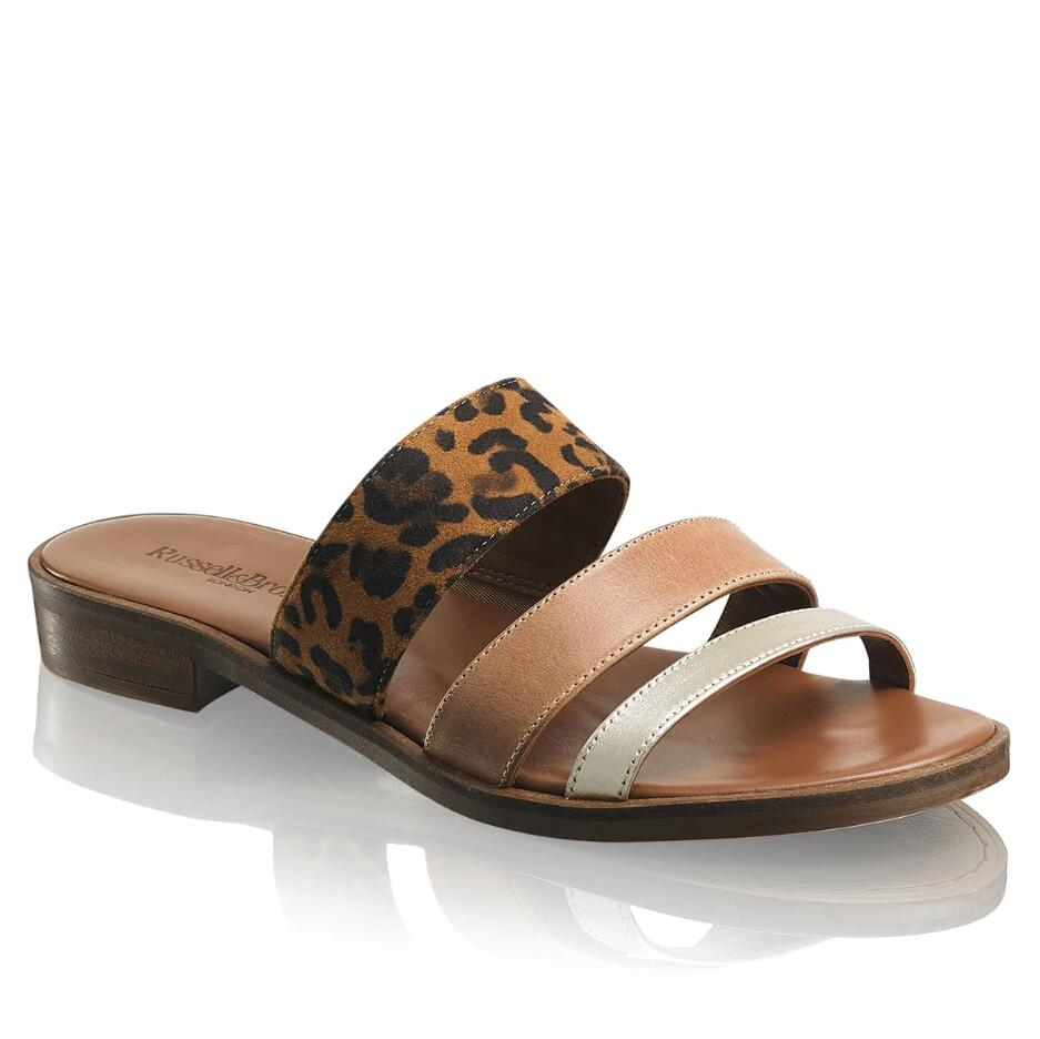 Russell and Bromley BLEEKER Luxury 3 Strap Slide
