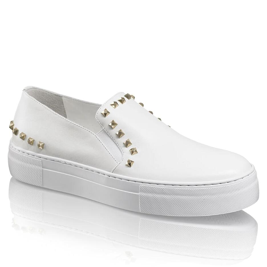 Russell and Bromley BRITESPARK Stud Sneaker
