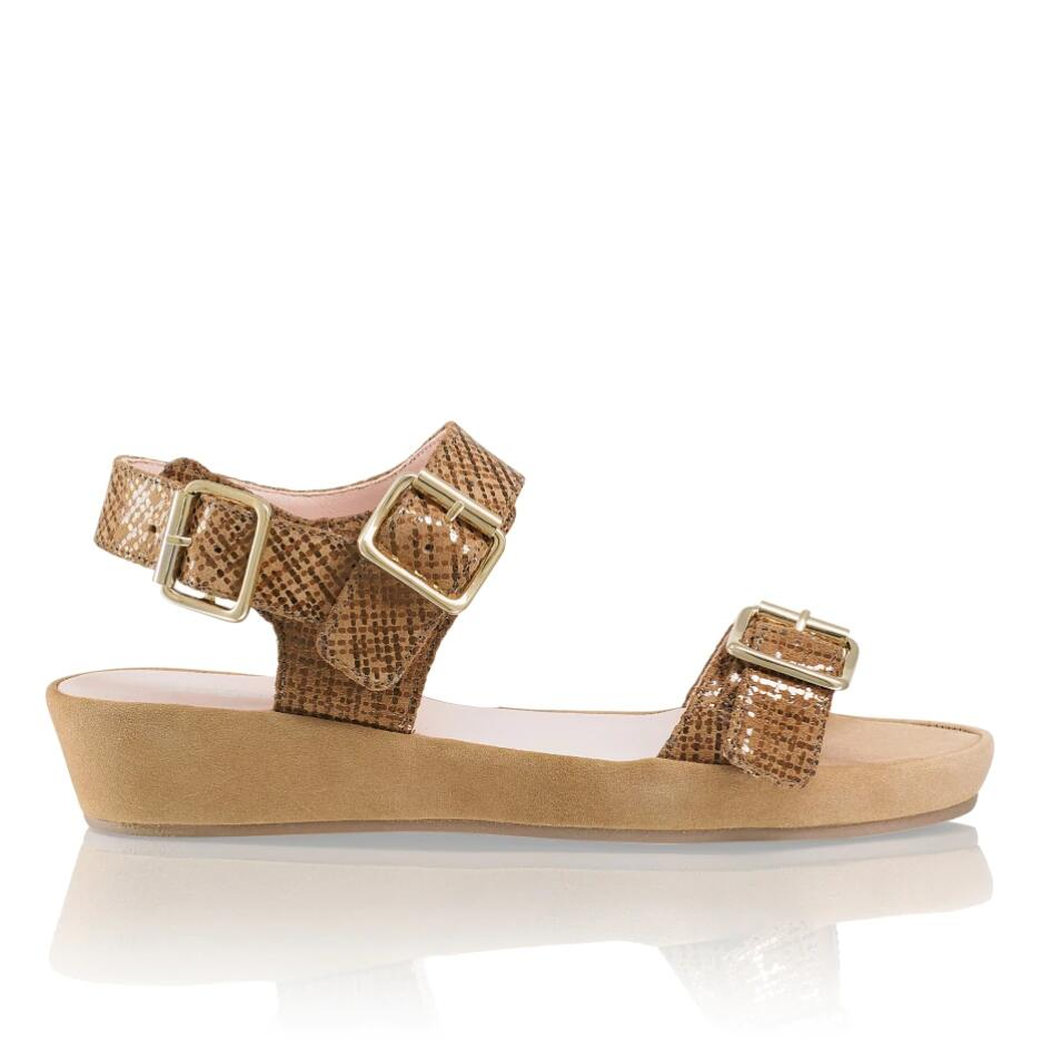 Russell and Bromley BUCKLEFORM Buckle Sacchetto Flatform