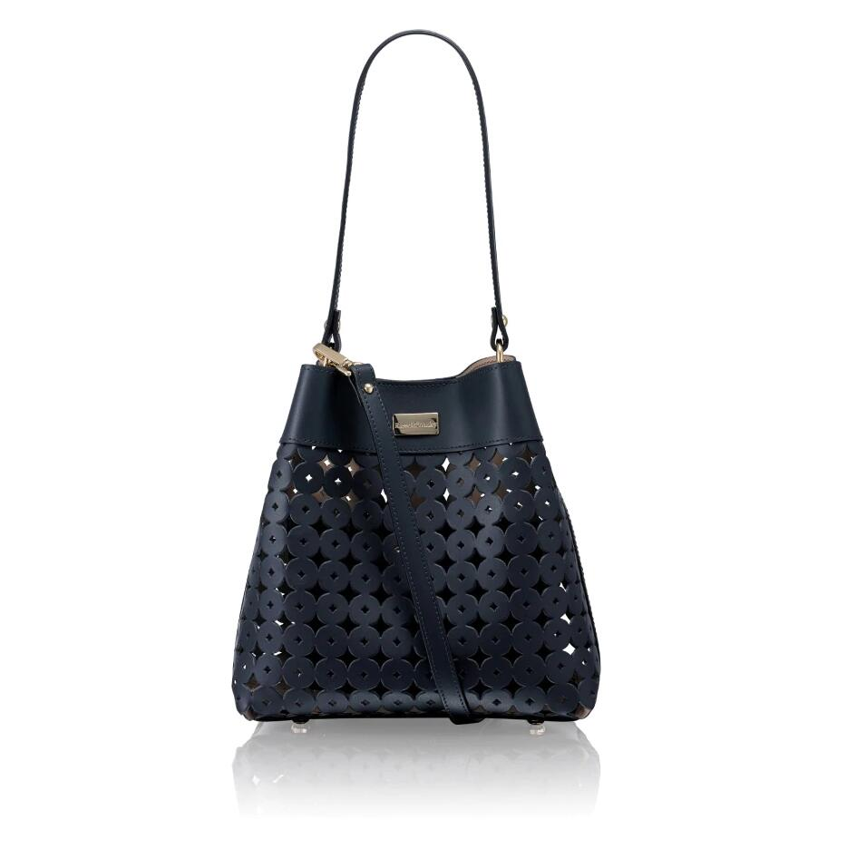 Russell and Bromley CLARAXBODY Laser Cut Crossbody Bag