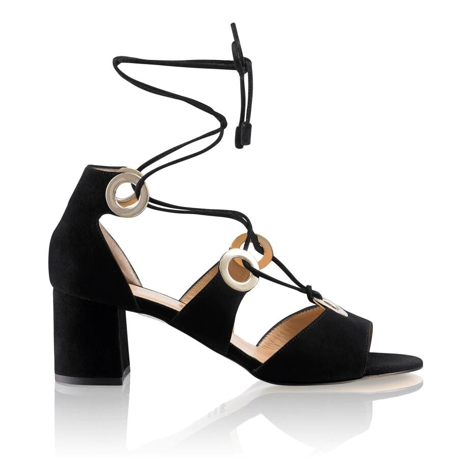 Russell and Bromley HI TIED Ankle Wrap Sandal