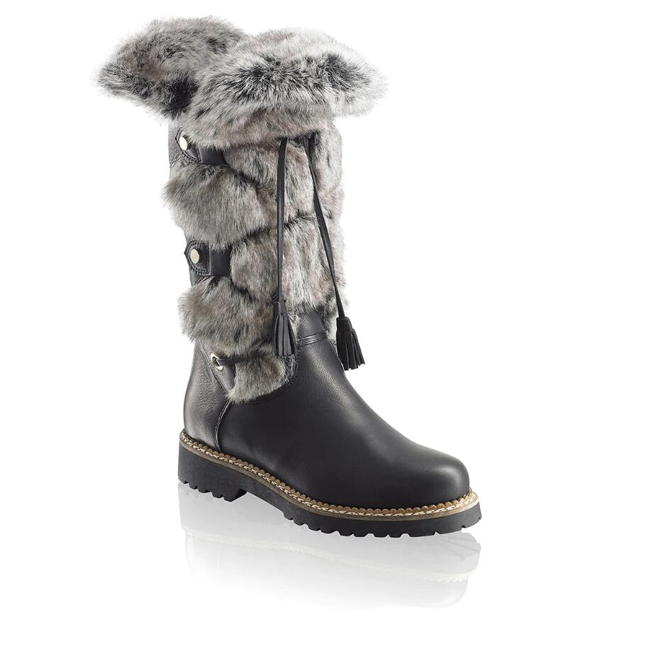 Russell and Bromley HIGHLANDER Faux-Fur Long