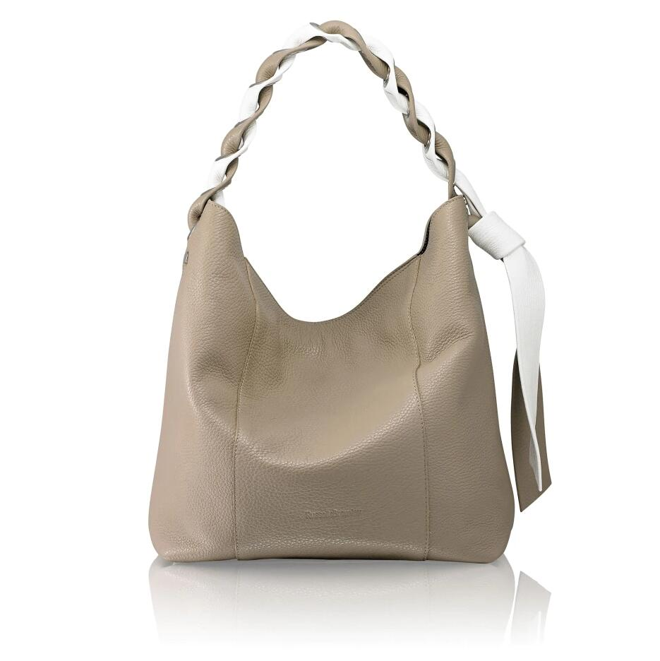 Russell and Bromley INTERLINK Two Tone Woven Strap Hobo