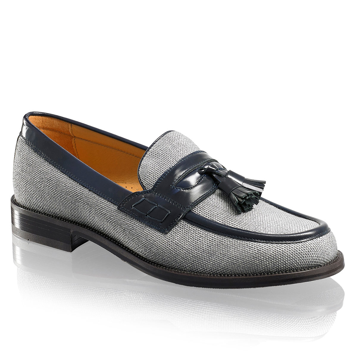 Russell and Bromley KEEBLE 4 Tassel College Loafer