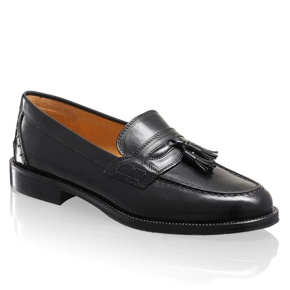 Russell and Bromley KEEBLE+ Stud/Tassel Loafer