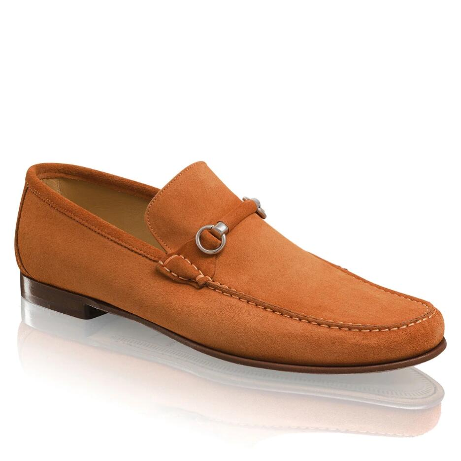 Russell and Bromley MISTY Snaffle Trimmed Loafer