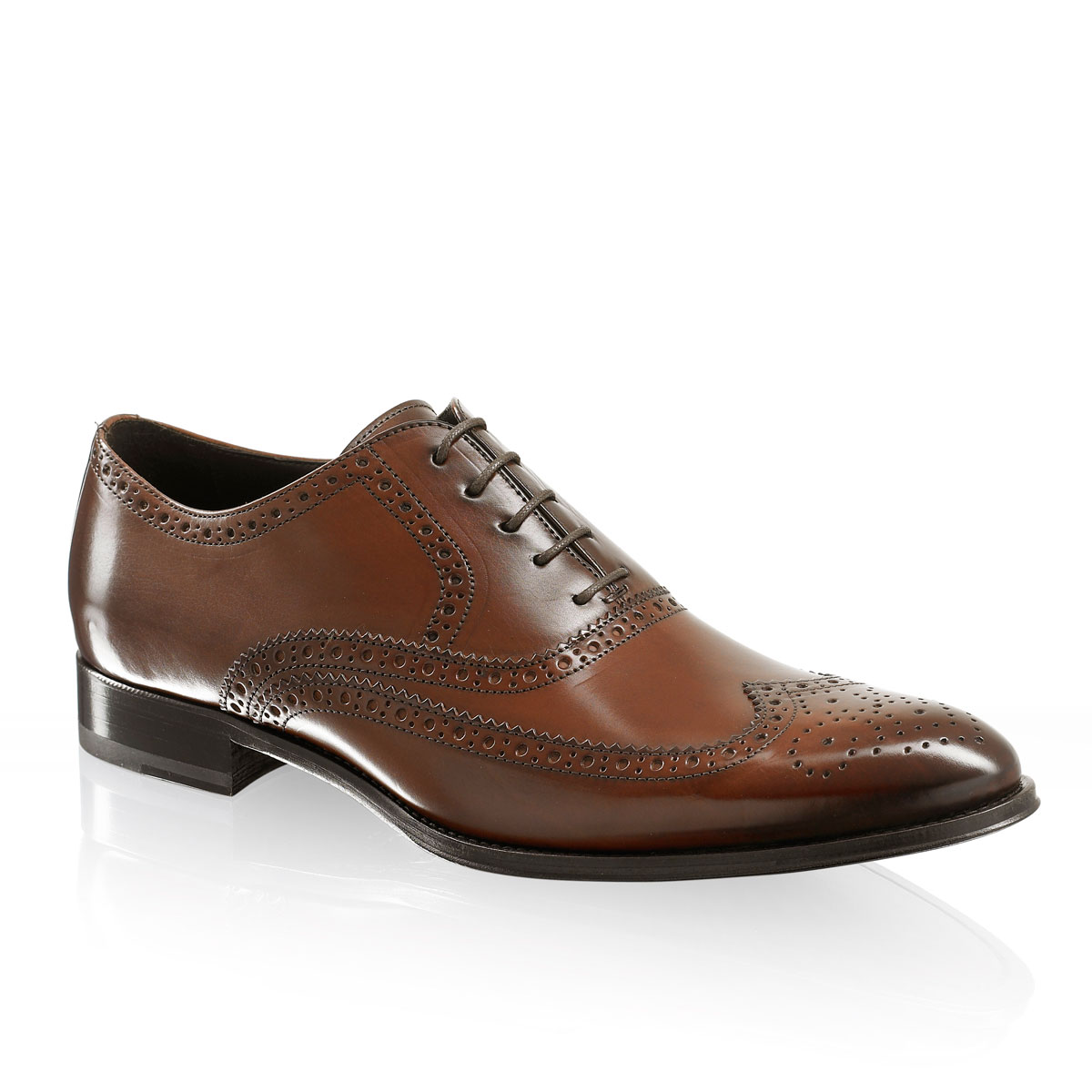 Russell and Bromley OAK Antiqued Brogue Oxford