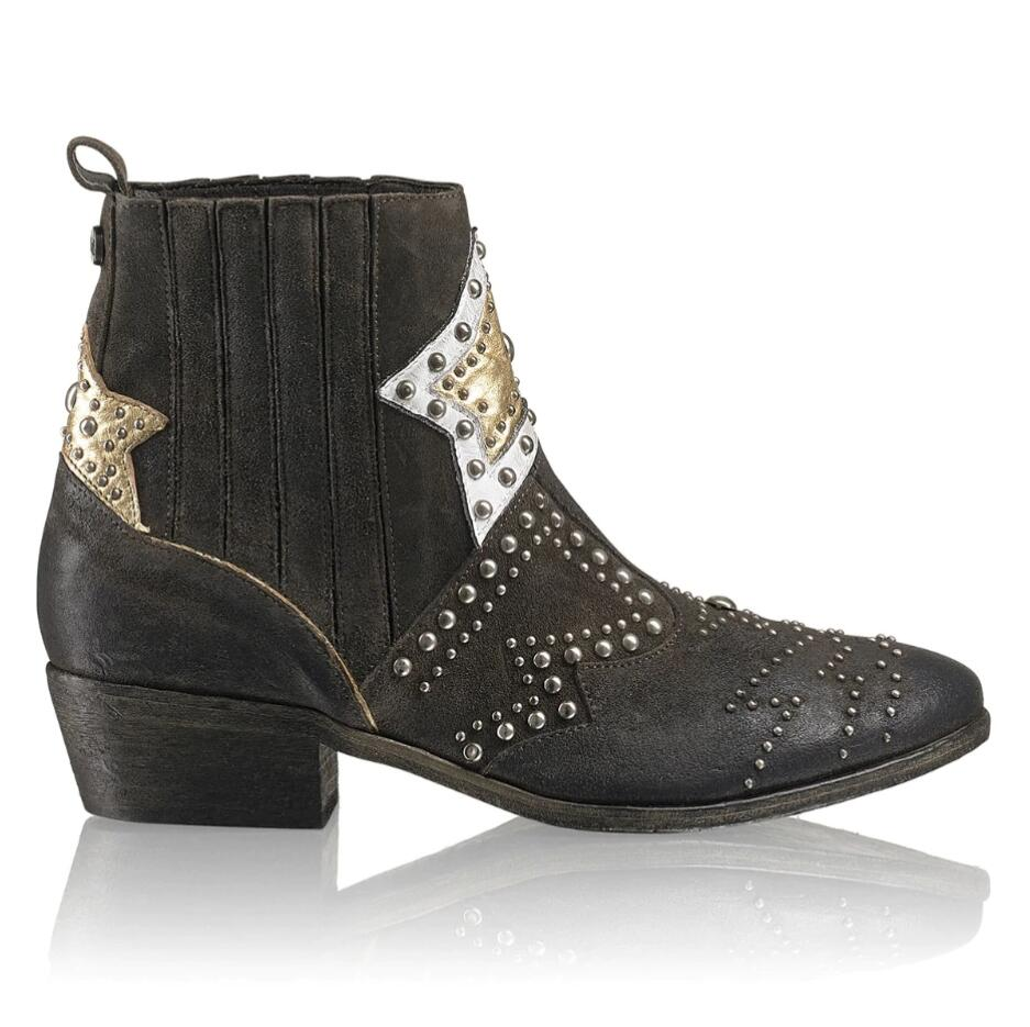 Russell and Bromley STARSTUDED Star + Stud Western