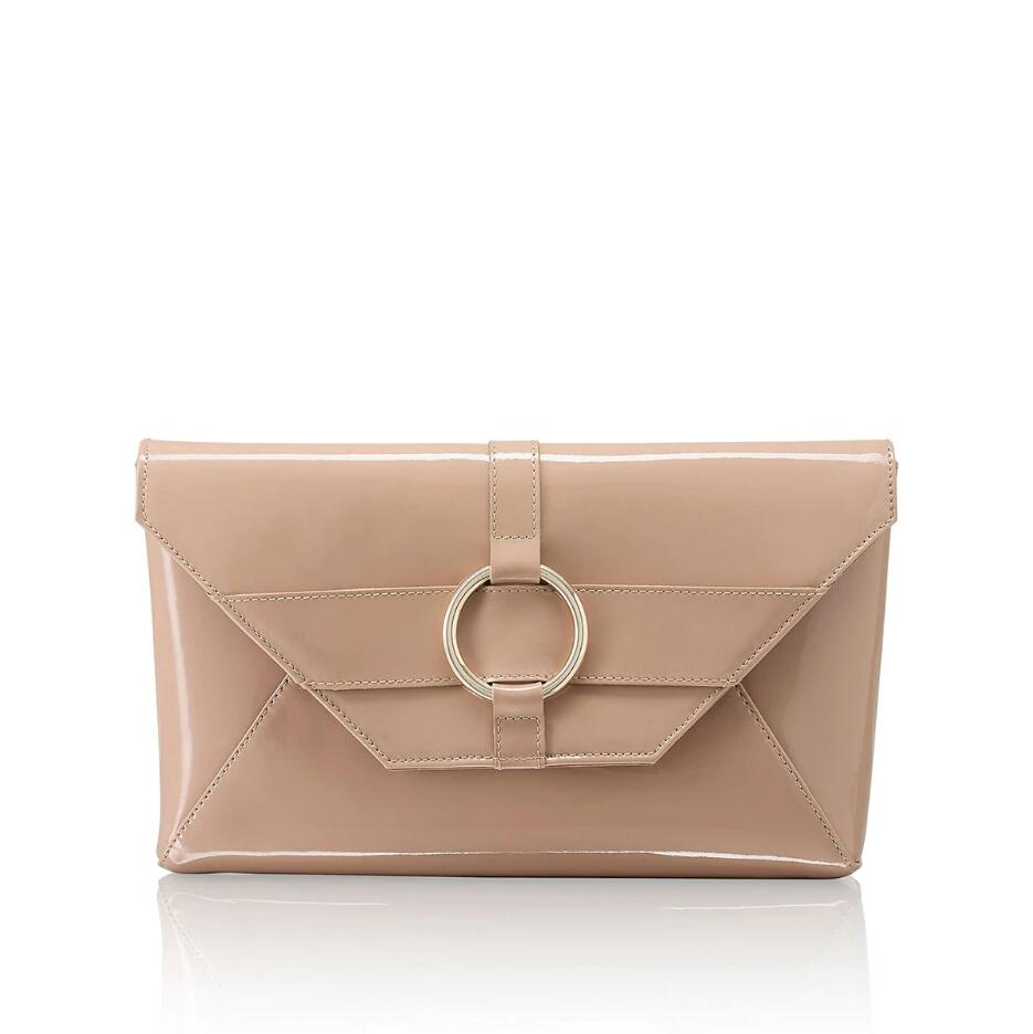 Russell and Bromley TRICKY Ring Trim Clutch Bag