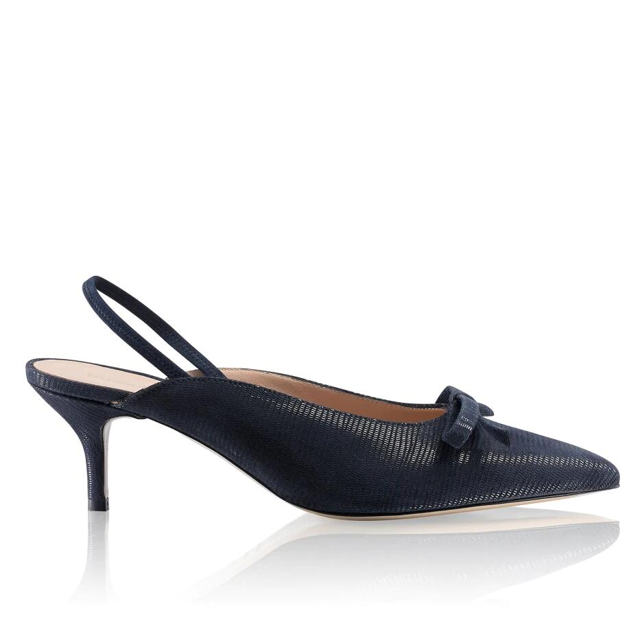 Russell and Bromley WINDSORMID Kitten Heel Mule