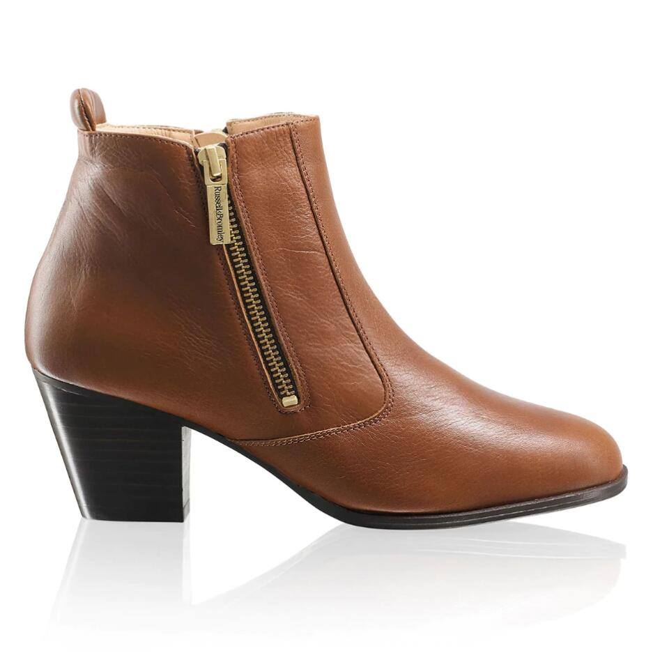 Russell and Bromley ZIP AWAY Zipped Gaucho Boot