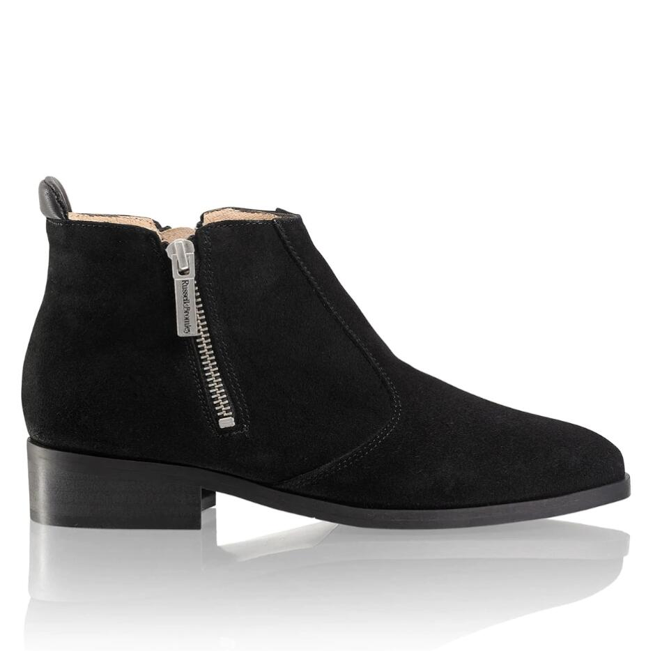 Russell and Bromley ZIP-WIRE Double Zip Ankle Boot