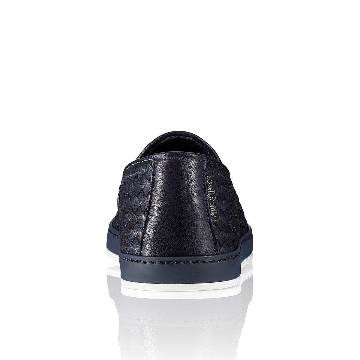 Russell and Bromley ANTIBES Woven Slip-On Sneaker