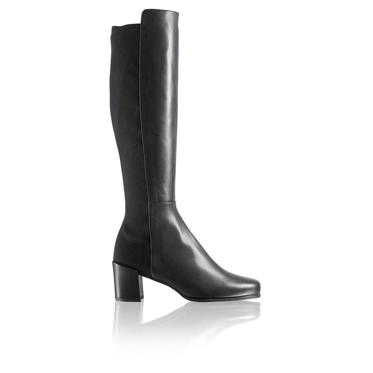 Russell and Bromley MIDHALFWAY Mid Heel Stretch Boot