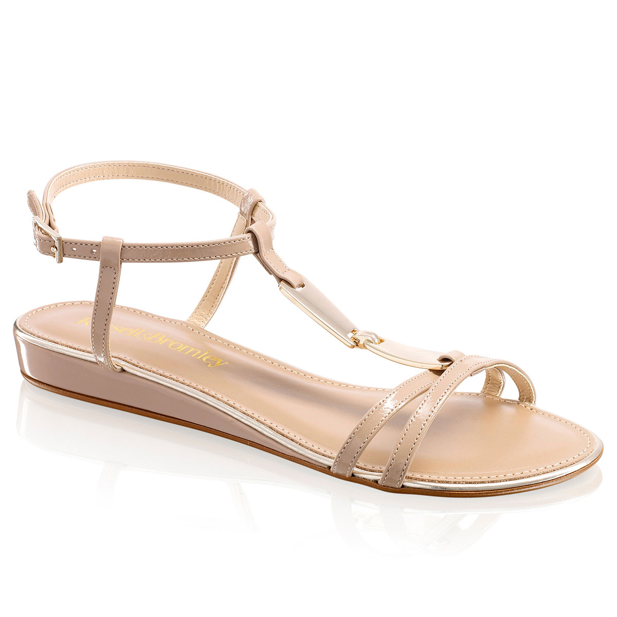 Russell and Bromley TRINKET Trim Strappy Sandal