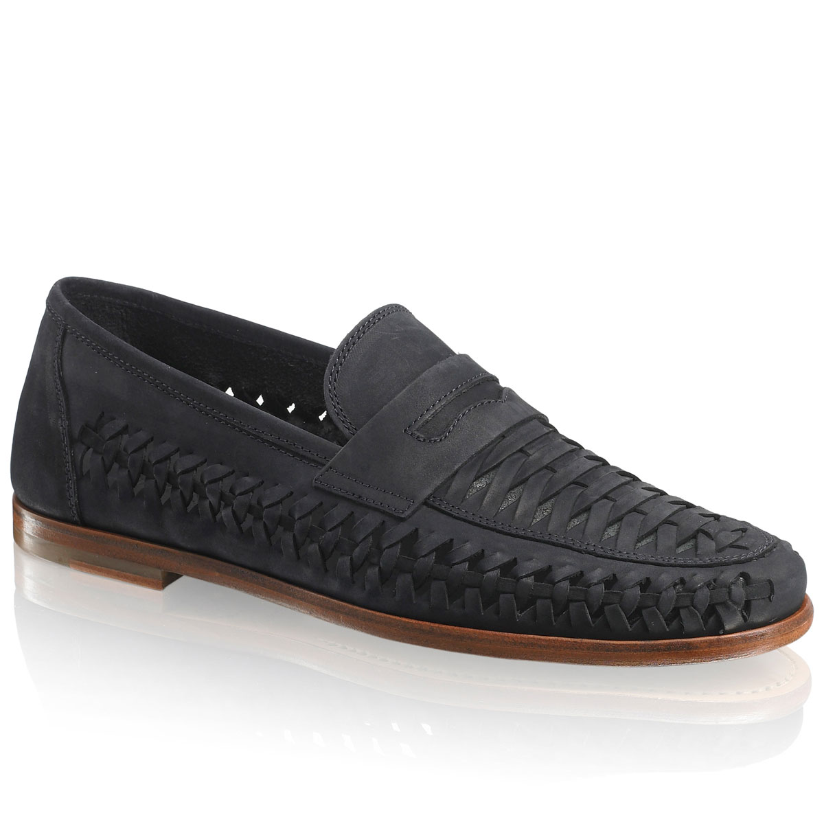 Russell and Bromley UPPERCUT Woven Slip-On